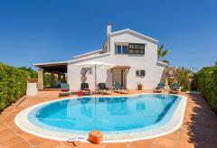 Menorca Urlaub am Meer - Ferienhaus mit Pool (Nr. 0524)