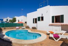 Menorca Urlaub im strandnahen Ferienhaus mit Pool (Nr. 0525)