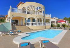 Strandnahe Villa mit Pool und Klimaanlage - Costa Blanca (Nr. 6000)