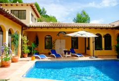 Costa Blanca Ferienhaus mit Pool (Nr. 6009)