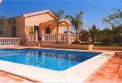 Ferienhaus mit Pool und Garten - Alhaurin (Nr. 6884)