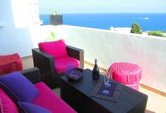Apartment in Roca Llisa mit Meerblick und Pool (Nr. 0123)