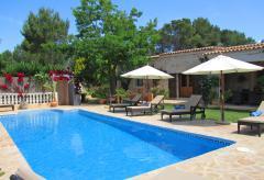 Private Finca mit Pool, Klimaanlage und mediterranem Garten (Nr. 0195)