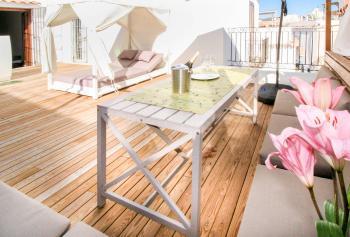 Ferienhaus in Ibiza-Stadt mit Dachterrasse
