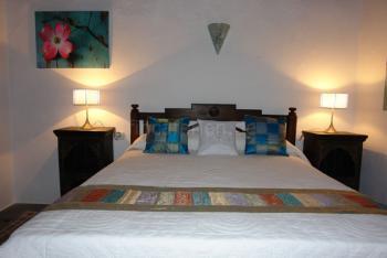 Schlafzimmer der Finca