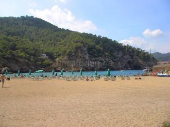 Strand der Cala Benirras