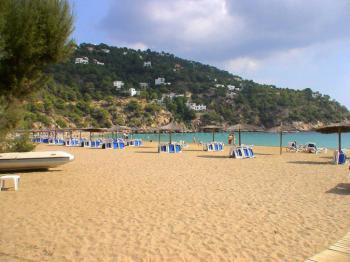 Strand der Cala St. Vicente