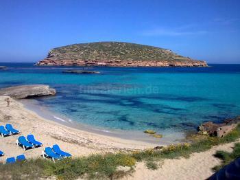 Strand der Cala Conta