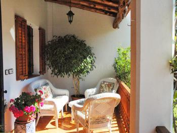 Terrasse - Eingangsbereich/ Garten