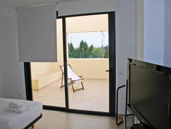 Sat-TV und Balkon