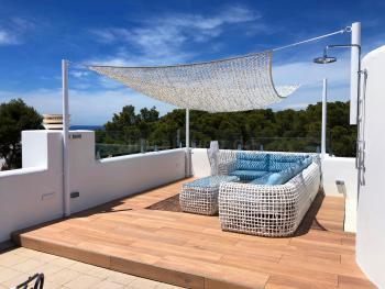 Ferienhaus mit Meerblick - Cala Vadella