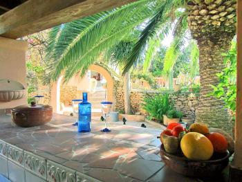Strandnahes Ferienhaus an der Cala Tarida