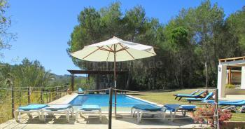 Ferienhaus mit Pool bei San Lorenzo