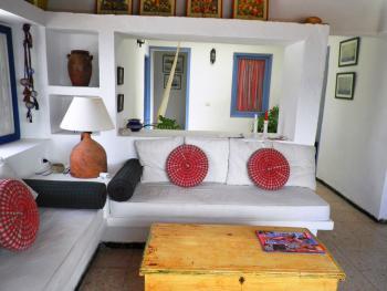Helle Räume und gemütliche Einrichtung