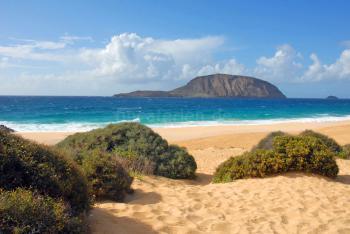 Toller Sandstrand - Playa de las Conchas