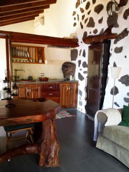 Wohnküche mit Klimaanlage