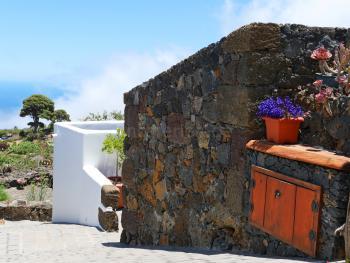 Ferienhaus mit Meerblick in El Pinar