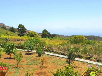 Garten und Meerblick