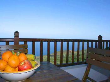 Ferienhaus mit Meerblick in Mocanal