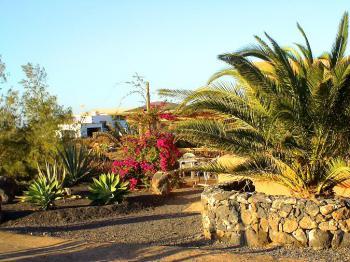 bei Lajares auf Fuerteventura
