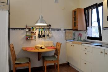 Kleiner Sitzplatz in der Küche