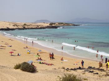 Sandstrand - Ostküste von Fuerteventura