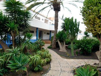 Strandnahe Ferienwohnung - Innenhof