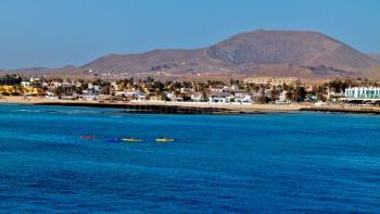 Sandstrand Corralejo - Urlaub Fuerteventura
