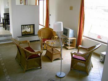 Salon mit Kamin