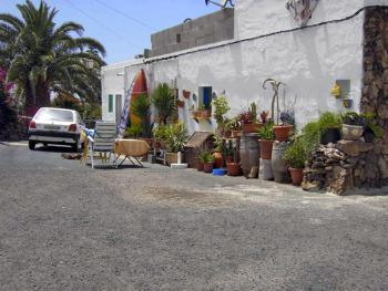 Straße in El Roque