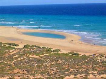 Playa de Sotavento nahe Costa Calma