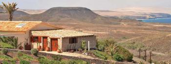 Fuerteventura Natur pur! Ferienwohnung mit Meerblick nahe La Pared