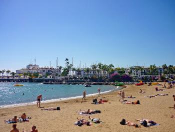 Puerto Mogan - Strand