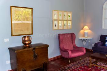 Elegante Möblierung im Vintage-Stil