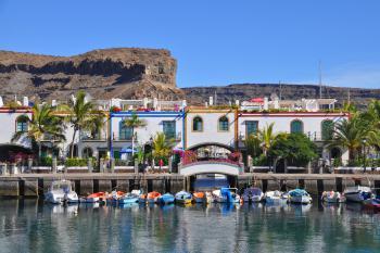 Hafen von Puerto Mogan
