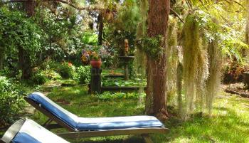 Relaxen im Garten - Urlaub Gran Canaria