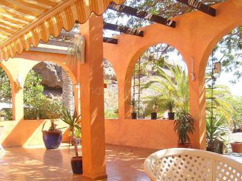 Terrasse mit Blick zum Barranco