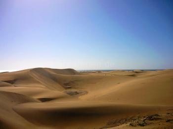 Dünen und Sandstrände von Maspalomas