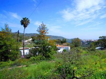 Blick auf das Tal von Santa Brigida