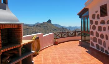 Terrasse mit tollem Bergblick
