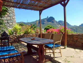 Terrasse mit wunderbarem Panoramablick