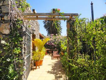 Urlaub unter Palmen - kanarisches Ferienhaus