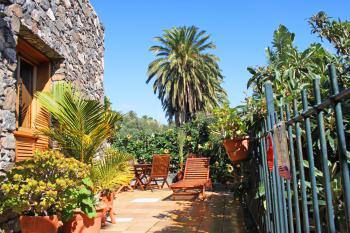 Kanarisches Ferienhaus - Terrasse