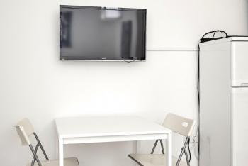 Sat-TV und Internet W-LAN sind vorhanden