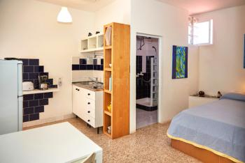 Wohn- und Schlafbereich Studio