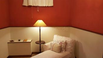 Salon zwischen den beiden Schlafzimmern