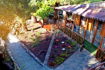 Private Terrasse - Ferienhaus für 3 Personen