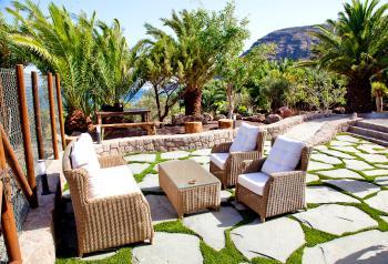 Private Terrasse mit tollem Meerblick