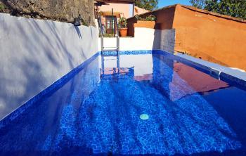 Ferienhaus mit beheizbarem Pool