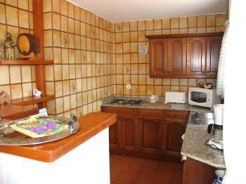Küche - große Ferienwohnung